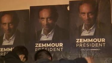 Eric Zemmour et ses militants sur le pied de guerre