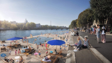 the city promises € 1.8 billion to make the Seine swimmable by 2024