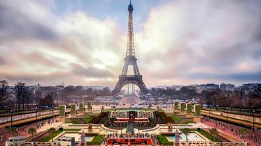 Pada kesempatan Paris Plages, taman Trocadéro akan sepenuhnya diubah