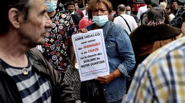 Ce week-end, des manifestations contre l'ouverture de nouvelles salles de consommation ont eu lieu à Paris.