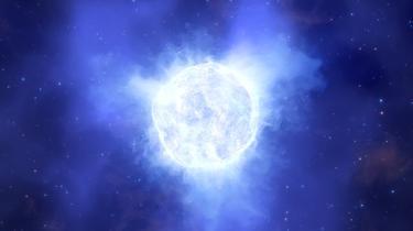 astronomie Une étoile clignotante 100 fois plus grosse que le Soleil découverte