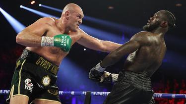 Sports de combat Boxe : Deontay Wilder veut «décapiter» Tyson Fury