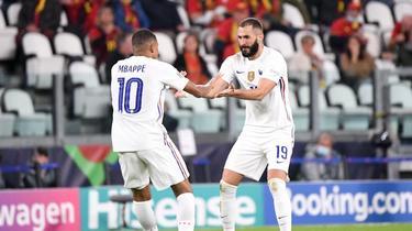 Les Bleus s'appuieront sur Kylian Mbappé et Karim Benzema en finale.