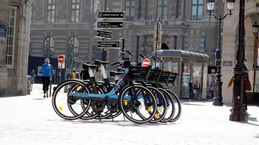 500 vélos seront déployés au compte-goutte à partir de mercredi.