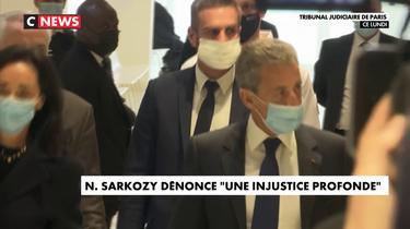 N. Sarkozy : «Une injustice profonde, choquante»