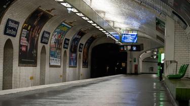 Aujourd'hui, seuls 70 % des usagers sont de retour dans le métro.