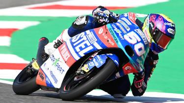 Jason Dupasquier a été gravement accidenté à la fin des qualifications du Grand Prix d'Italie.