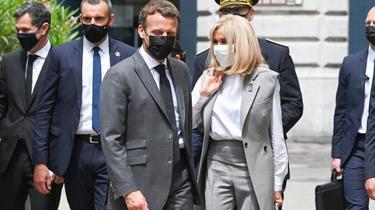 Football Euro 2021 : Emmanuel Macron en visite à Clairefontaine