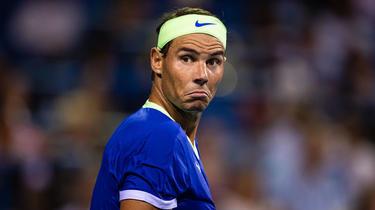 Rafael Nadal terminó su temporada con una lesión en el pie.
