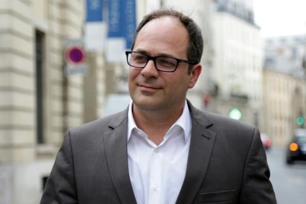 Emmanuel Maurel, député européen et membre du PS, le 24 juin 2017 à Paris [Zakaria ABDELKAFI / AFP/Archives]