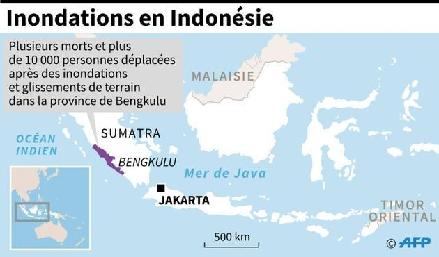 Inondations en Indonésie  [AFP / AFP]