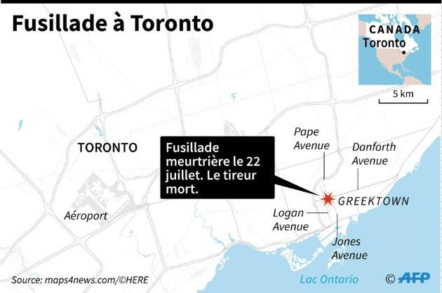Fusillade meurtrière à Toronto [AFP / AFP]