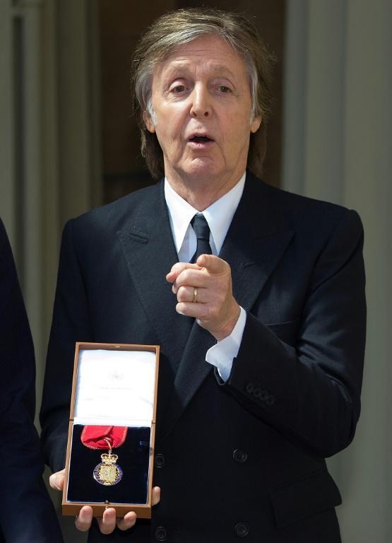 Le musicien britannique Paul McCartney fait partie de soutiens au texte, et a écrit aux eurodéputés [Bradley PAGE / POOL/AFP/Archives]
