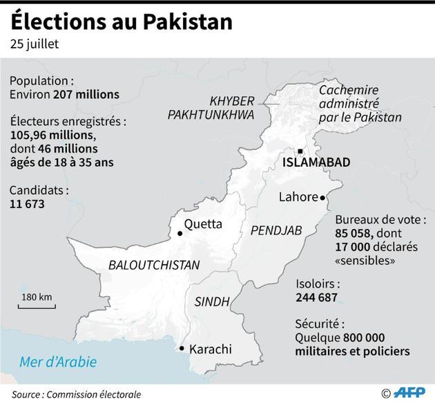 Elections au Pakistan [Laurence CHU / AFP]