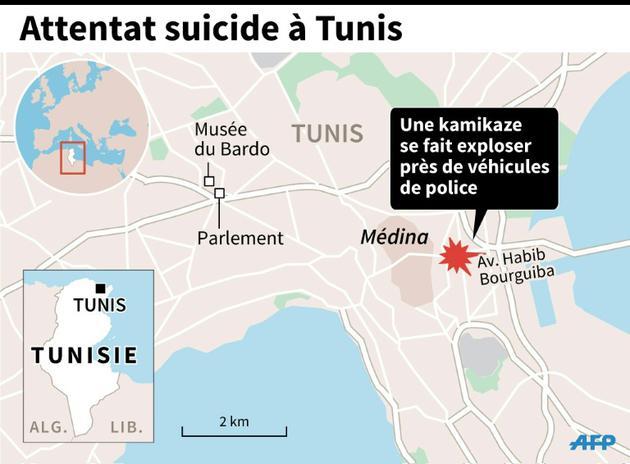 Attentat suicide à Tunis [S.Ramis/S.Malfatto / AFP]