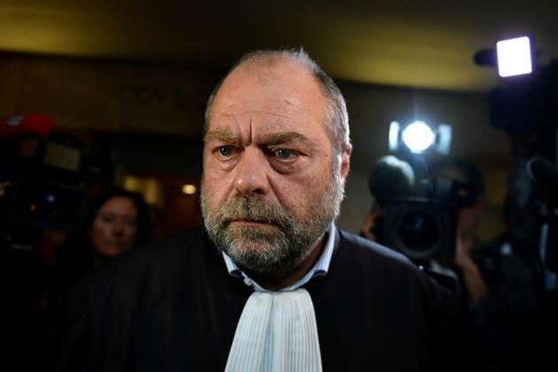 Eric Dupond-Moretti, un des avocats d'Alexandre Djouhri, ici le 17 octobre 2018 à Aix-en-Provence [GERARD JULIEN / AFP/Archives]