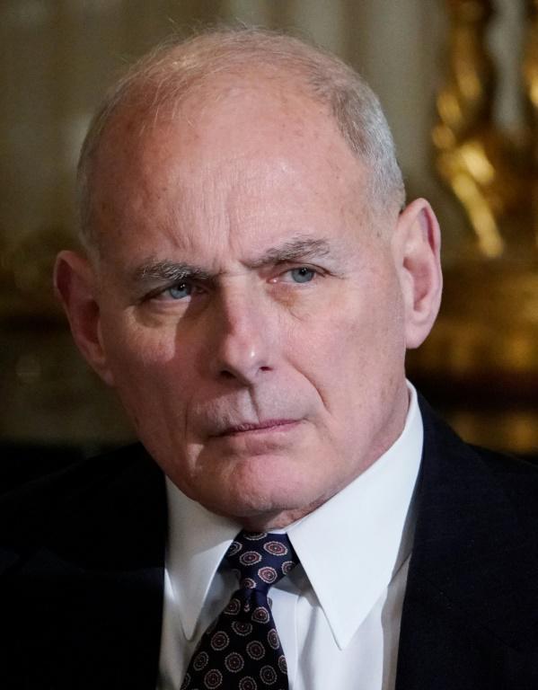John Kelly photographié à la Maison Blanche le 12 février 2018 [MANDEL NGAN / AFP/Archives]