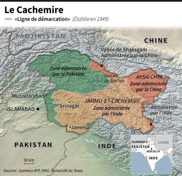 Le Cachemire [Jean-Michel CORNU / AFP]