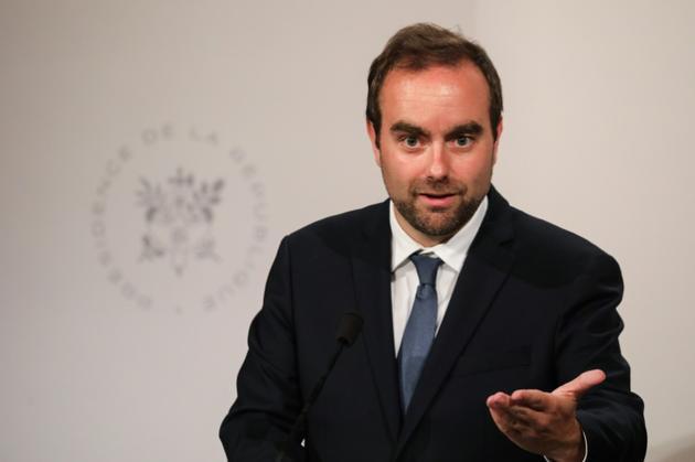 Le ministre des Collectivités territoriales Sébastien Lecornu à Paris le 17 juillet 2019 [LUDOVIC MARIN / AFP/Archives]