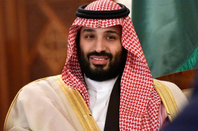 Le prince saoudien Mohammed ben  Salman, à Algers le 2 décembre  2018 [RYAD KRAMDI / AFP/Archives]
