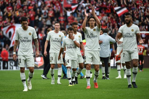 Les Parisiens restent sur une victoire sur le Stade rennais au Roazhon Park, le 23 septembre 2018 [JEAN-FRANCOIS MONIER              / AFP/Archives]