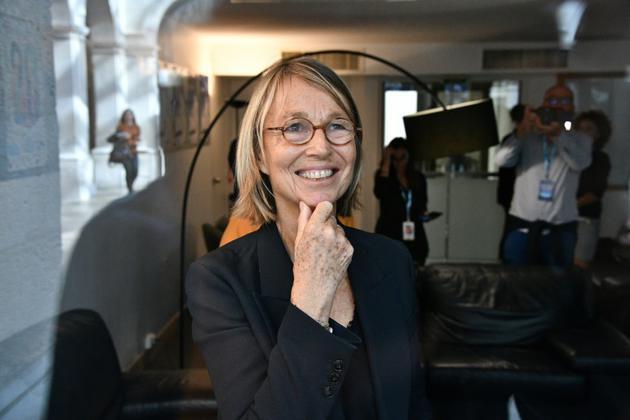 La ministre de la Culture,Françoise Nyssen, donnée partante, à La Rochelle, le 14 septembre 2018 [Xavier LEOTY / AFP/Archives]