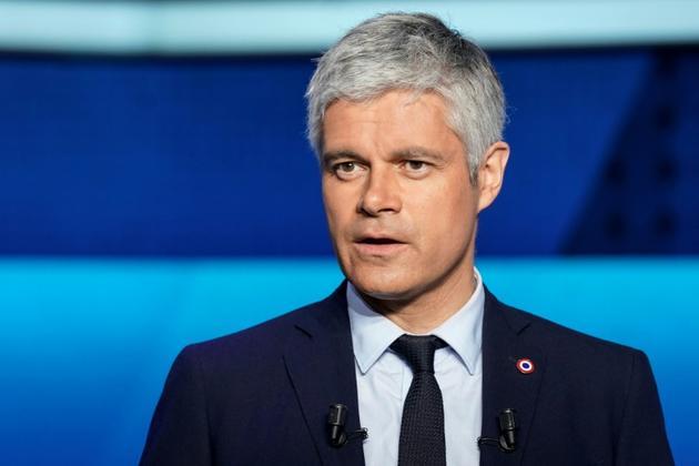 Le patron de LR, Laurent Wauquiez participait au débat de France 2 à Saint-Cloud, le 22 mai 2019 [Lionel BONAVENTURE / AFP]