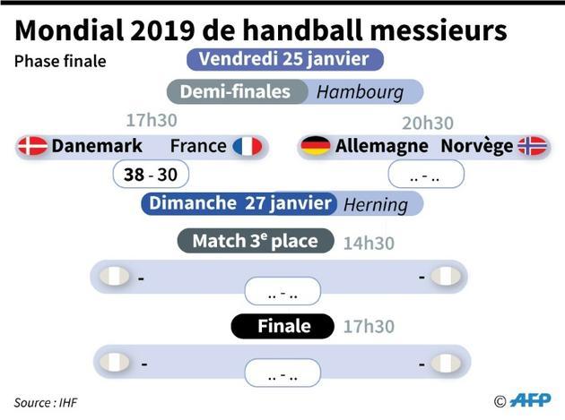 Mondial 2019 de handball messieurs [Vincent LEFAI / AFP]