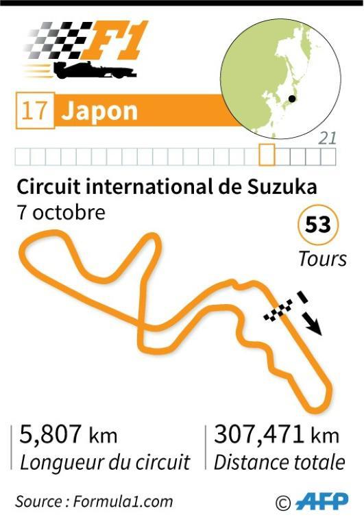 F1 - GP du Japon  [Thorsten EBERDING / AFP]