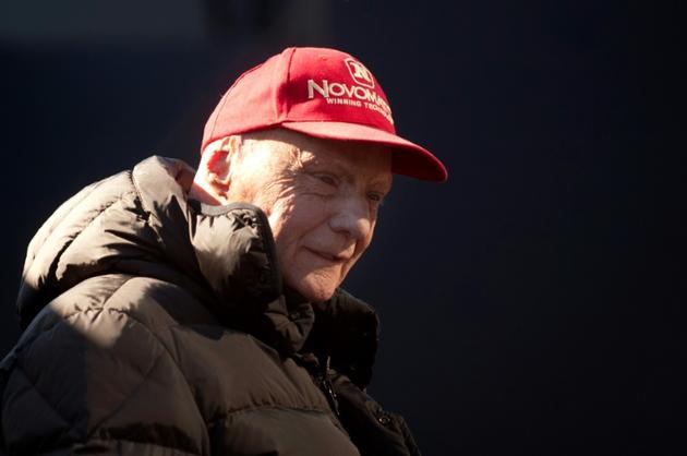 L'ancien pilote de F1 autrichien Niki Lauda, le 1er février 2015 à Jerez (Espagne) [Jorge Guerrero / AFP/Archives]