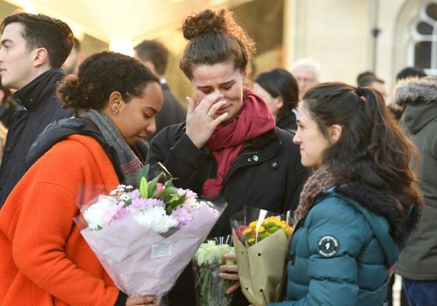 Veillée le 2 décembre 2019 à Londres en hommage aux victimes tuées par un jihadiste sur le London Bridge [DANIEL LEAL-OLIVAS / AFP]