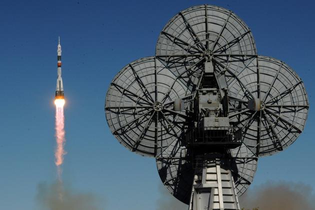 L'astronaute américain Nick Hague et le Russe Alexeï Ovtchinine ont atterri au Kazakhstan après la défaillance d'un moteur de la fusée Soyouz qui devait les emmener vers l'ISS.</p> <p>Russia's Soyuz MS-10 spacecraft carrying the members of the International Space Station (ISS) expedition 57/58, Russian cosmonaut Alexey Ovchinin and L'astronaute américain ome in Baikonur on October 11, 2018. [Kirill KUDRYAVTSEV / AFP]