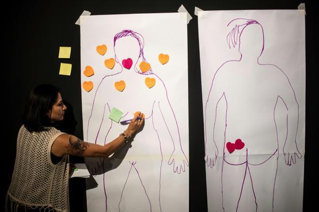Les ateliers sextos veulent donner aux femmes l'opportunité de s'exprimer et de ne pas avoir peur de partager leurs envies intimes avec leurs partenaires [Pedro PARDO / AFP]