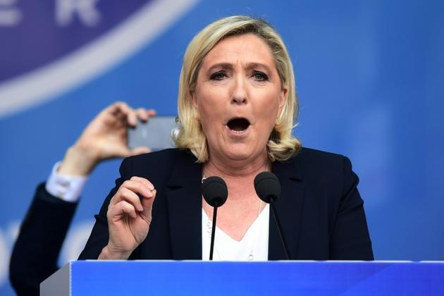 Marine Le Pen, à Milan, le 18 mai 2019 [Miguel MEDINA / AFP/Archives]