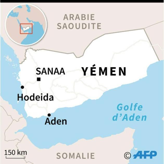 Carte du Yémen [AFP / AFP]