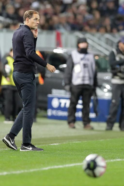 Le PSG de Thomas Tuchel en déplacement à Bordeaux, le 2 décembre 2018, voit son match contre Montpellier reporté  [ROMAIN PERROCHEAU / AFP/Archives]