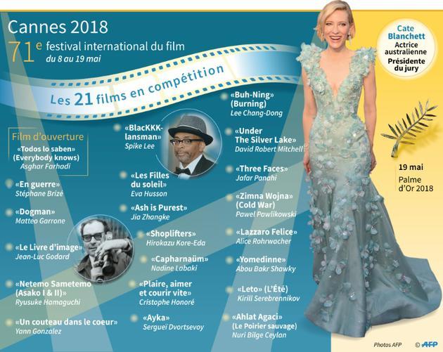 Le 71e festival de Cannes [Paz PIZARRO, Vincent LEFAI / AFP]