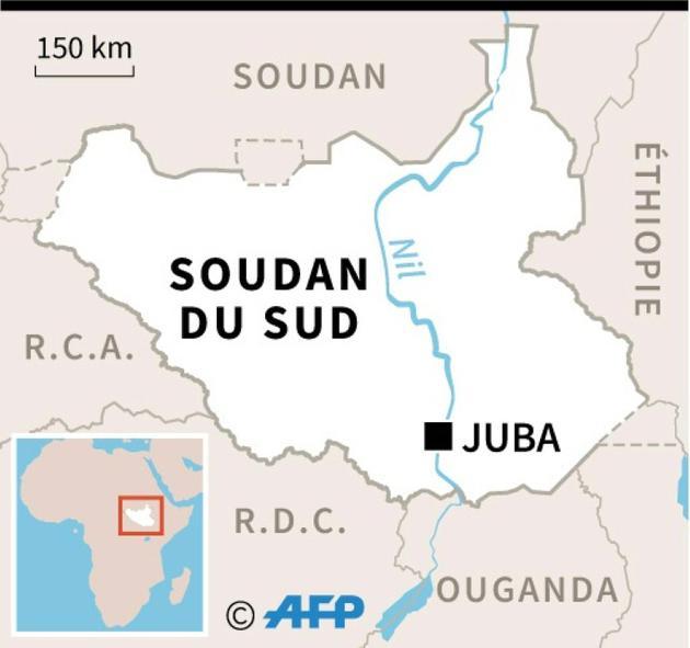 Soudan du Sud [Sophie RAMIS / AFP]