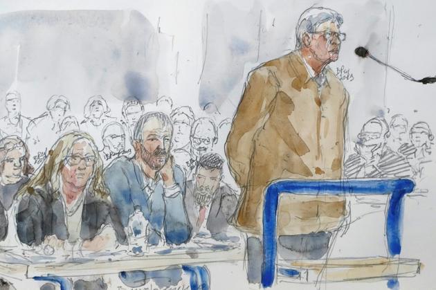 Jean-Luc Melenchon devant le tribunal correctionnel de Bobigny (Seine-Saint-Denis) le 19 septembre 2019 [Benoit PEYRUCQ / AFP]
