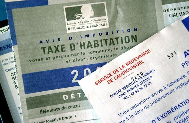 Avis d'imposition de la taxe d'habitation, daté de 2003 [MYCHELE DANIAU / AFP/Archives]