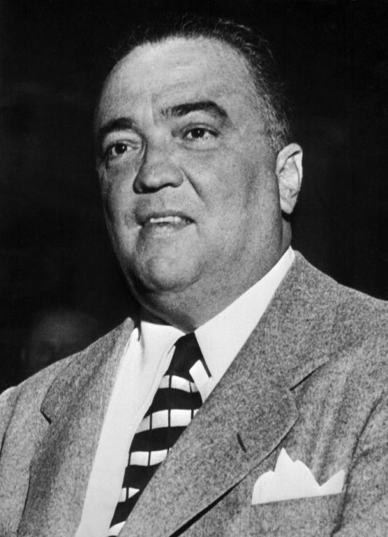 Le directeur de la police fédérale (FBI), J. Edgar Hoover, le 10 janvier 1951 à Washington [ / AFP/Archives]