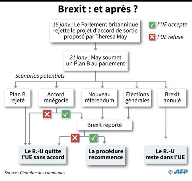 Brexit : et après? [Gillian HANDYSIDE / AFP/Archives]