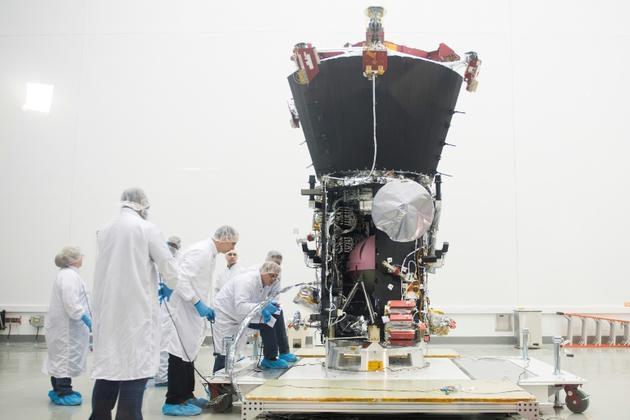 La sonde Parker Solar Probe le 12 août 2018 à Cape Canaveral en Floride [JIM WATSON / AFP/Archives]