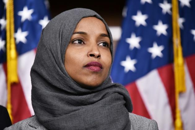 Ilhan Omar, le 30 novembre 2018 au Capitole, à Washington  [MANDEL NGAN / AFP/Archives]