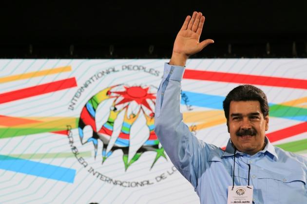 Le président vénézuélien Nicolas Maduro, le 26 février 2019 à Caracas [Jhonn ZERPA / Présidence vénézuélienne/AFP]