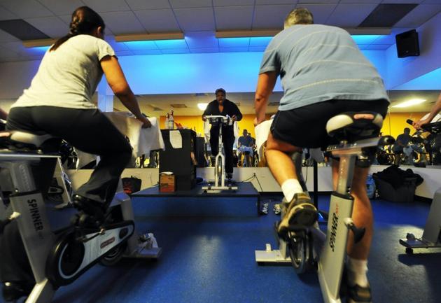 Cours de fitness aux Etats-Unis [JEWEL SAMAD / AFP/Archives]