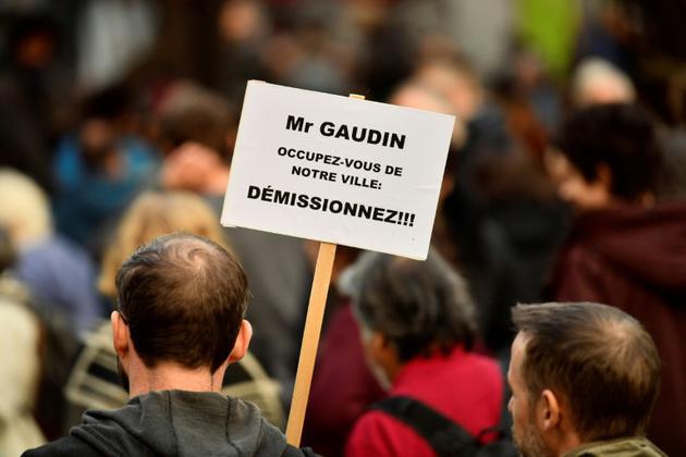 Lors de la marche blanche à Marseille, le 10 novembre 2018 [CHRISTOPHE SIMON / AFP]