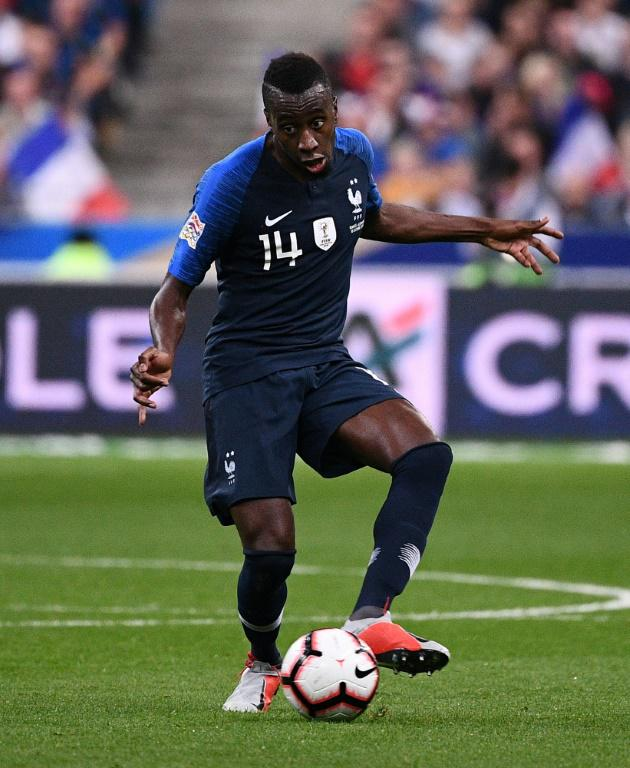 Blaise Matuidi contre l'Allemagne en Ligue des Nations, le 16 octobre 2018 au Stade de France à Saint-Denis [FRANCK FIFE / AFP/Archives]