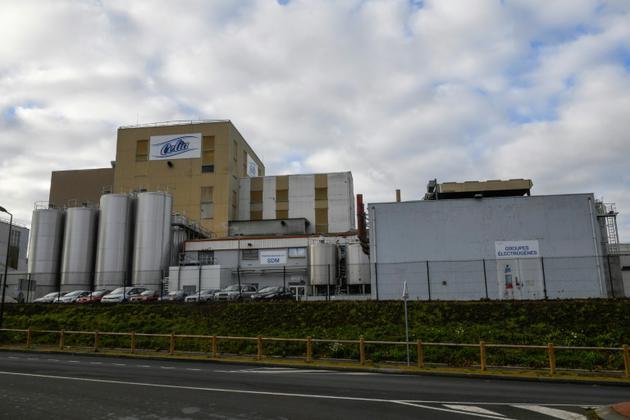 L'usine Lactalis à Craon en décembre 2017 [DAMIEN MEYER / AFP/Archives]