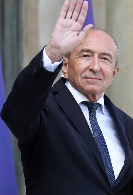 Gérard Collomb, encore ministre de l'Intérieur, quittant le palais de l'Elysée le 19 septembre 2018 [ludovic MARIN / AFP/Archives]